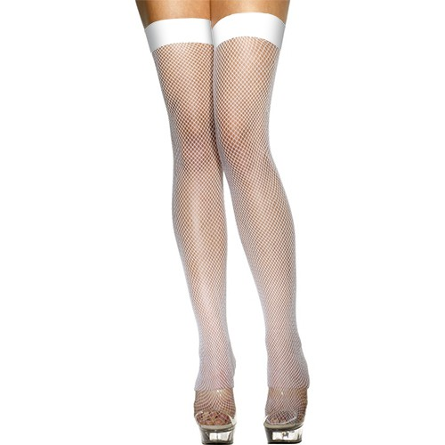 HOSIERY FISHNET WHITE Leg Avenue